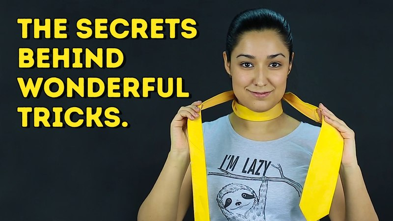 Learn the secrets behind amazing tricks that are simply magical l 5 MINUTE CRAFTS