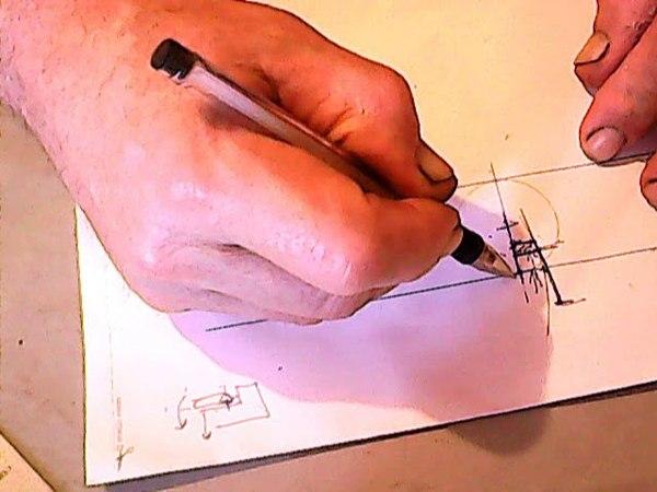 О проектировании бэклока в складном ноже