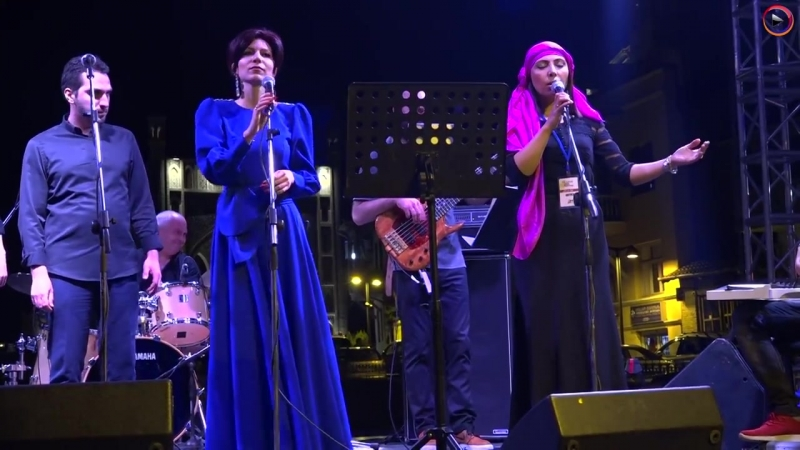 Уникальное Армяно-азербайджанское исполнение Сари ахчикГорная девица взорвало зал в Тбилиси