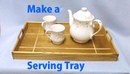 Serving Tray with Holly Inlay - Woodworkweb