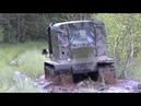 Испытания гусеничного вездехода по бездорожьею и в болоте 22.07.17г.