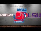 Louisiana Ragin' Cajuns vs LSU Tigers 14.03.2018 NIT 1st Round NCAAM 2017-2018