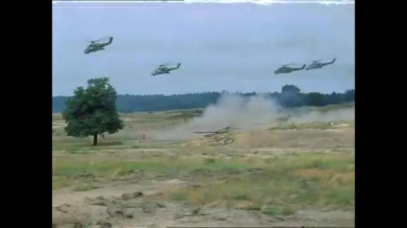 Атака Т-72 Национальной народной армии ГДР (фрагмент фильма