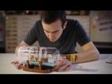 LEGO®Ideas ○ 21313 ○ Корабль в бутылке (отчет дизайнеров)