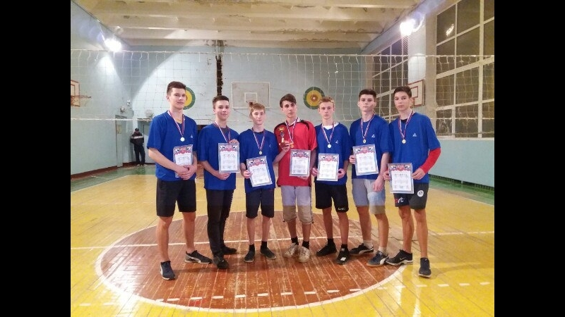 1st place | Volleyball competitions - Khartsyzk 15.02.2018