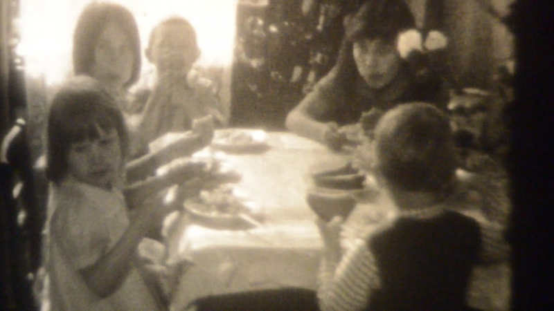 11 06 1980г Женины гости Замедленная съёмка