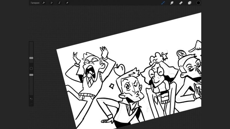 SketchBench 1 - Рисуем ваши безумные реквесты по Гарри Поттеру