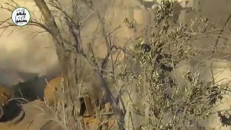 Сирия 07 03 2018 Боевики Ахрар аш Шам уничтожили Т 72 правительственных сил в восточной Гуте Дамаск