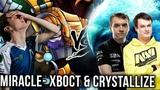 Miracle- Tinker vs Na'Vi Players Crystallize Morph XBOCT WD Dota 2
