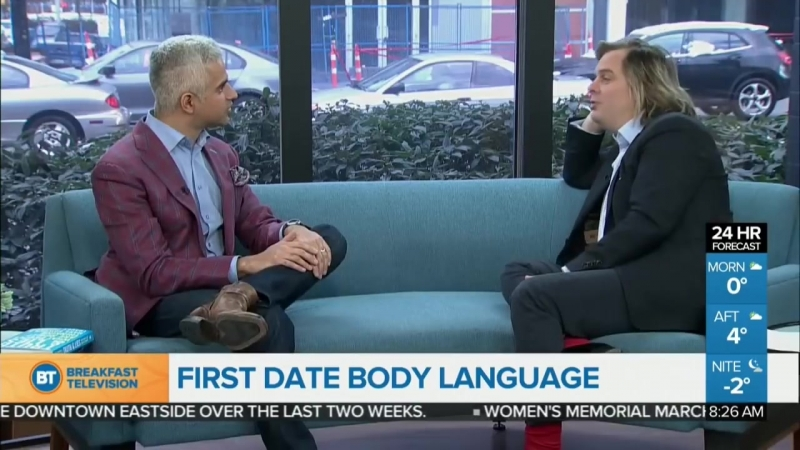 Body Language Advice for Dating from Expert in Nonverbal Communication