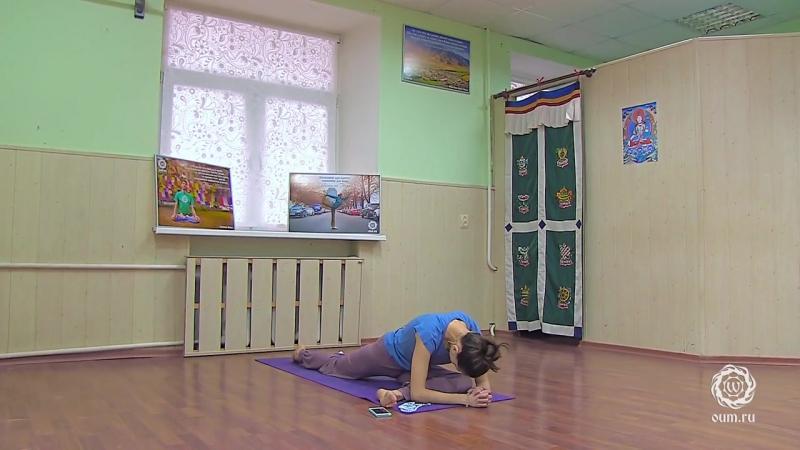 Проработка позвоночника и тазобедренных суставов. Александра Штукатурова