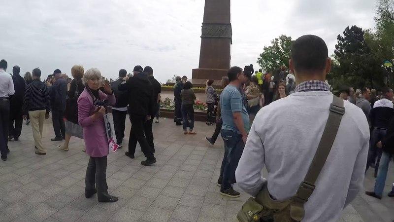 Провокація від проросійських колаборантів. Одеса, 9 травня 2018