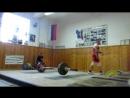 первые соревы по тяжелой атлетике