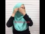 готовый хиджаб с жемчугом