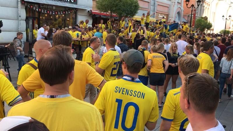 Шведы очаровывают Нижний