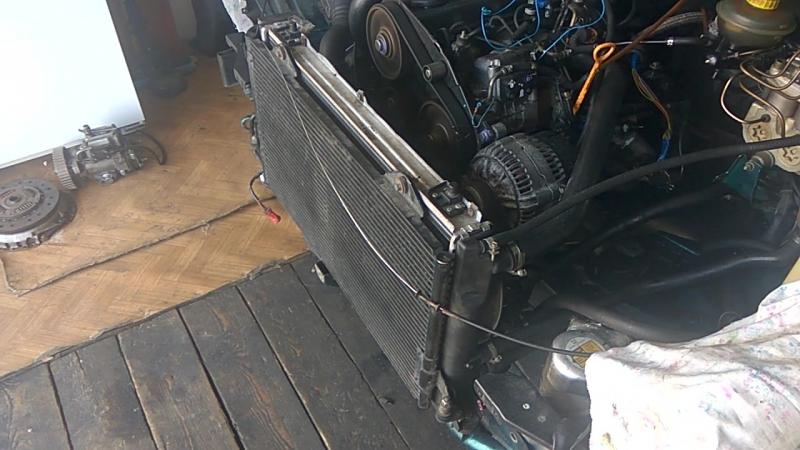 Первый запуск мотора после замены 1.9 TDI AFN