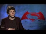 Jesse Eisenberg on Playing Lex Luthor, Director Zack Snyder on Setting Up a Saga