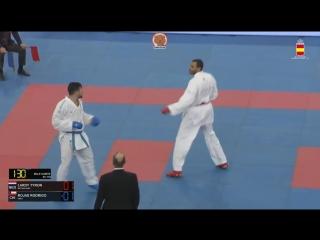 Гвадалахара-2018. Финал в мужском кумитэ свыше 84 кг