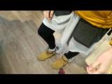 Вандализм над ботинками