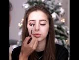 Новый год уже совсем близко и поэтому мы приготовили серию идей для праздничного макияжа для разных типов лица.