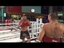 Fairtex - Muay-Thai training with UFC warrior Cole Smith