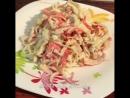 Салат с крабовыми палочками самый простой и быстрый