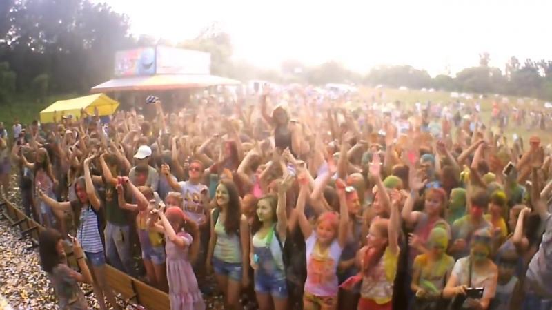 Фестиваль Красок в Киржаче