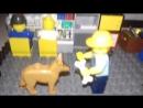 Лего самоделка на тему Зомби Апокалипсис.Бункер