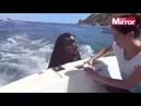 Sư tử biển bám thuyền, vòi ăn cá