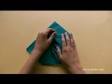 Как сложить салфетку в виде ёлки