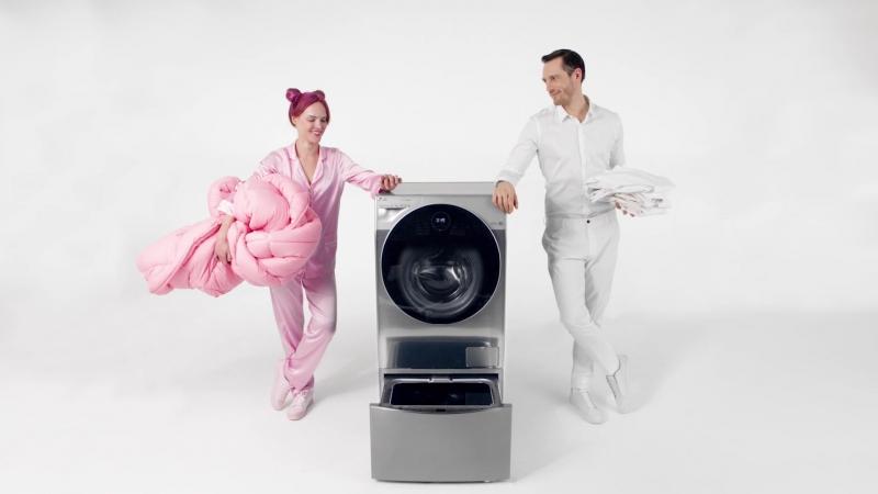 LG TWIN Wash - стиральная машина с двумя барабанами