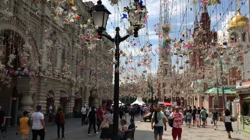 Nikoslkaya Street, Moscow