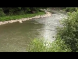 Рахов. Строптивая Горная река Черная Тиса. Mountain river Black Tisa-hclip-scscscrp