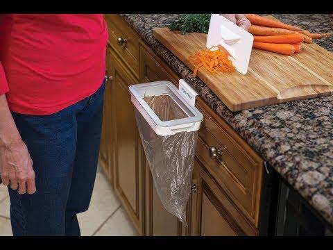 Giá treo rác thông minh Attach-A-Trash Hanging Trash Bag Holder