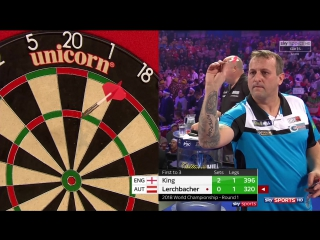 Mervyn King vs Zoran Lerchbacher (PDC World Darts Championship 2018 / Round 1)