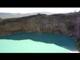 Флорес  цветные озера вулкана Келимуту.(Volcano).mp4