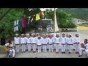 Юнги Морского на песенном этапе в соревнованиях 6 смены 2018 года