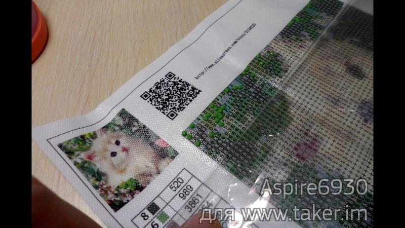 DIY⁄ Алмазная вышивка с Aliexpress