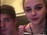 Jacob Elordi and Joey King [the kissing booth]