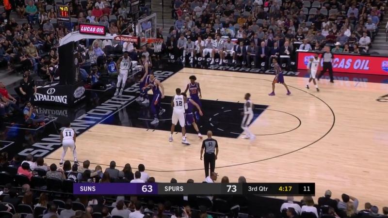 Три очка Форбса с передачи Гэя в матче с Suns
