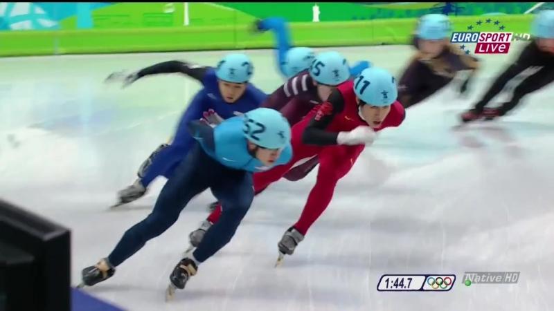 14.02.2010. Зимние Олимпийские игры в Ванкувере. Шорт-трек. Мужчины. 1500 м