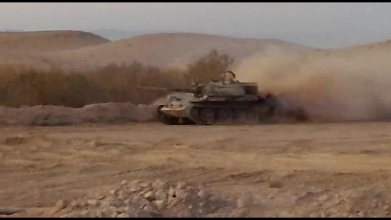 т-55 в сирии неизвестный
