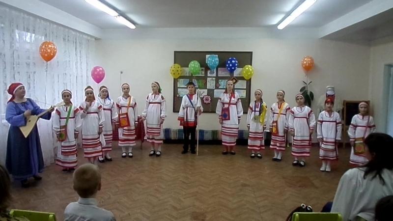 18 05 2018 отчётный концерт для родителей дод центр творческого развития фольклорный ансамбль тынды рынды худ рук Темиршина Ал