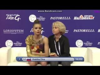 Дина Аверина булавы (финал) — Кубок Мира 2018 / Италия, Пезаро