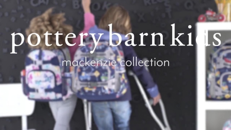 Be Prepared for the First Day of School with the Perfect Pottery Barn Kids Backp