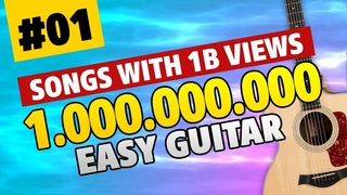 BILLION VIEWS GUITAR 01. Easy Guitar Tabs for Beginners