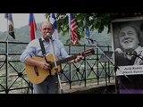 Валерий Чечет с авторской песней посвященной Юрию Кукину-