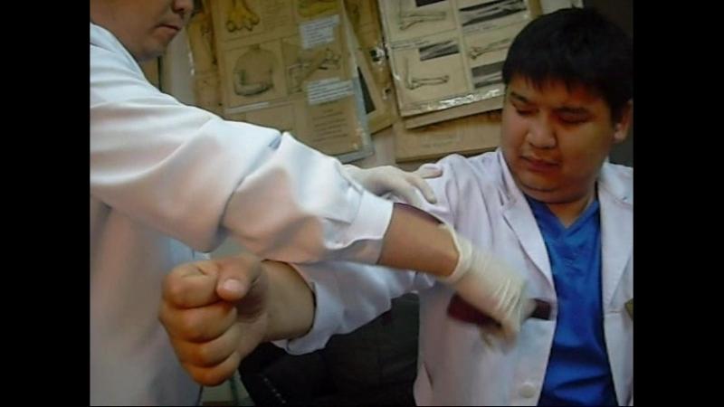 10. Наложение кровоостанавливающего, жгута на верхнюю и нижнюю конечность(Сурков С.В.)