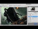 Photoshop Фотошоп. Создаём коллаж «Хранитель сокровищ». Часть №3. Елена Минакова
