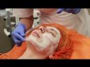 Врач косметолог Балябина Мария Александровна проводит уходовую процедуру с использованием косметики HydroPeptide